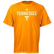 Tennessee Volunteers adidas Orange Anti-Microbial Football Sideline T-Shirt