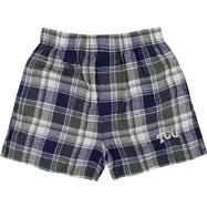 TCU Horned Frogs Youth Purple/Charcoal Legend Flannel Boxer Shorts
