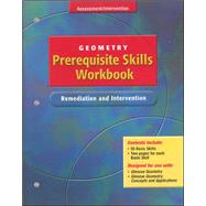 Glencoe Geometry, Prerequisite Skills Workbook: Remediation and Intervention,9780078602009