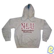 NLU Polka Dot With Name Hoody