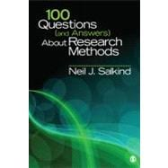 100 Questions (and Answers) About Research Methods,9781412992039
