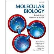 Molecular Biology Principles of Genome Function,9780199562053