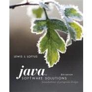 Java Software Solutions : Foundations of Program Design, 9780321532053