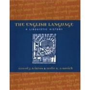 The English Language A Linguistic History
