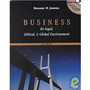 Business : Its Legal, Ethical, and Global Environment,9780324182064