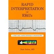 Rapid Interpretation of EKG's: An Interactive Course,9780912912066