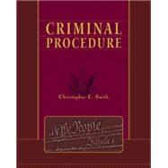 Criminal Procedure,9780534612092