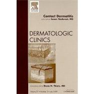 Contact Dermatitis: An Issue of Dermatologic Clinics, 9781437712100  
