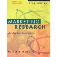 Marketing Research and SPSS 10.0 SE
