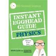 Instant Egghead Guide : Physics, 9780312592103  
