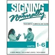 Signing Naturally Units 1-6 Workbook (w/2 DVD's)