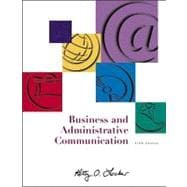Business and Administrative Communication with CD and E-text