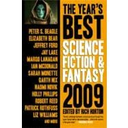 Year's Best Science Fiction and Fantasy, 2009 Edition,9781607012146