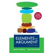 Elements of Argument with 2009 MLA and 2010 APA Updates : A Text and Reader,9780312692148
