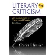 Literary Criticism An Introduction to Theory and Practice (A Second Printing),9780205212149