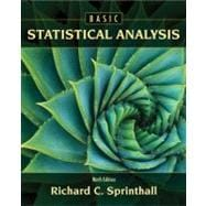 Basic Statistical Analysis, 9780205052172  