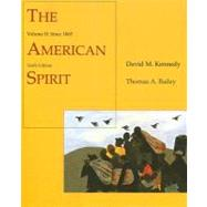 The American Spirit: United States As Seen by Contemporaries Since 1865,9780618122189