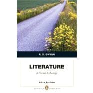 Literature A Pocket Anthology (Penguin Academics Series),9780205032198