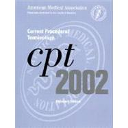 Cpt 2002: Current Procedural Terminology/Standard Edition