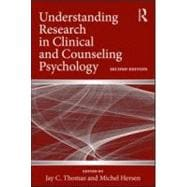 Understanding Research in Clinical and Counseling Psychology, 9780415992213  