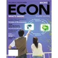 ECON Microeconomics (with Economics CourseMate with eBook Printed Access Card),9781111822217