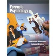 Forensic Psychology (with InfoTrac),9780534632250