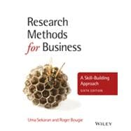 Research Methods for Business A Skill-Building Approach,9781119942252