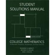 Coll Math For Busn Econmcs Life Sci&Soc Sci,9780131572270