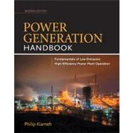 Power Generation Handbook 2/E, 9780071772273