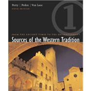 Sources of the Western Tradition From the Ancient Times to the Enlightenment, Volume 1,9780618162277