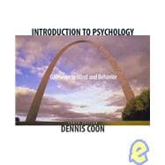 Introduction to Psychology : Introduction to Psychology - Gateways to Mind and Behavior