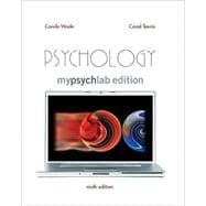 Psychology Package with MYLAB EDT&MPL PEG&CONCEPT MAP&VNGONT