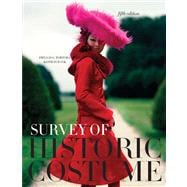 Survey of Historic Costume + Study Guide Supplement,9781609012304