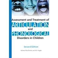 Assessment And Treatment of Articulation And Phonological Di..., 9781416402305