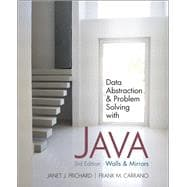 Data Abstraction and Problem Solving with Java : Walls and M..., 9780132122306  