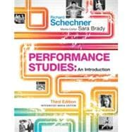 Performance Studies: An Introduction,9780415502313