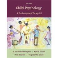 Child Psychology: A Contemporary View Point,9780073012315