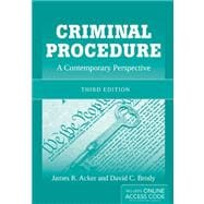 Criminal Procedure : A Contemporary Perspective, 9781449652340