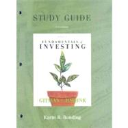 Study Guide for Fundamentals of Investing: Student Access Kit