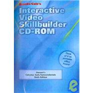 Interactive Video Skillbuilder CD-ROM for Stewart's Calculus: Early Transcendentals, 6th