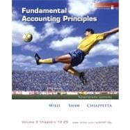 Loose-Leaf Fundamental Accounting Principles Vol. 2 (Ch 12-25),9780077342388