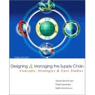 Designing And Managing The Supply Chain,9780072982398