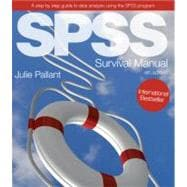 SPSS Survival Manual : A Step by Step Guide to Data Analysis Using the SPSS Program,9780335242399