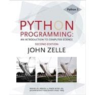 Python Programming : An Introduction to Computer Science,9781590282410