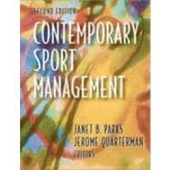 Contemporary Sport Management,9780736042437