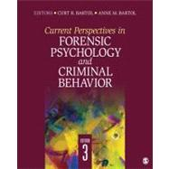 Current Perspectives in Forensic Psychology and Criminal Beh..., 9781412992442  