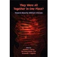 They Were All Together in One Place?: Toward Minority Biblic..., 9781589832459  