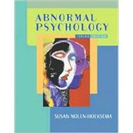 Abnormal Psychology,9780072562460