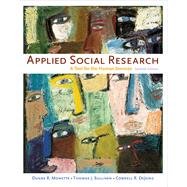Applied Social Research : A Tool for the Human Services