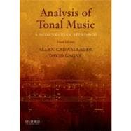 Analysis of Tonal Music A Schenkerian Approach,9780199732470